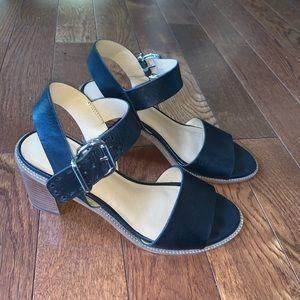 Franco Sarto Chunky Heel Sandals